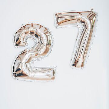 Happy 27th Birthday by newburyboutique