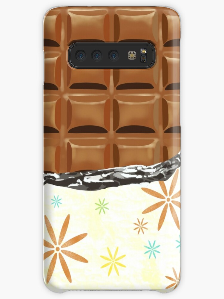 Unpacked White Chocolate Bar Caseskin For Samsung Galaxy By Mimietrouvetou