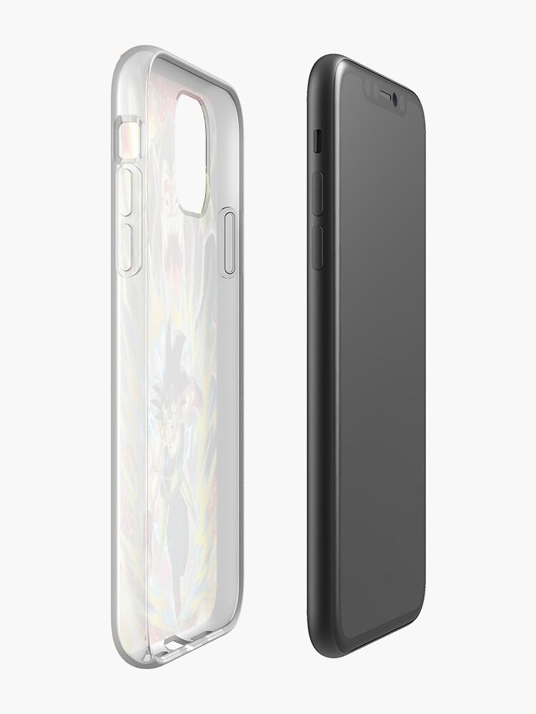 Dragon Ball Super Broly Saiyan Fury iphone case