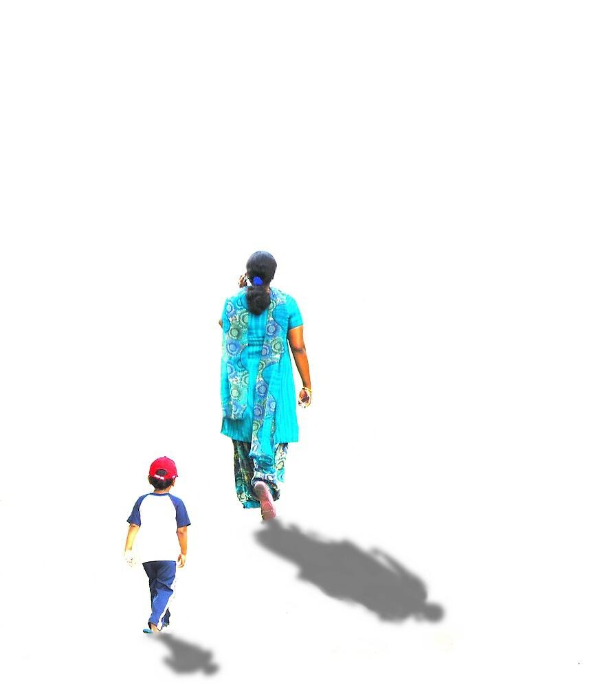 Following her..... by DaveHrusecky