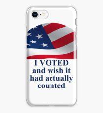 Voting iPhone Case/Skin