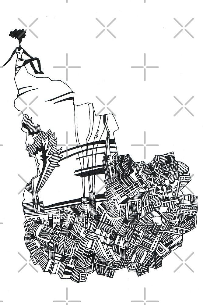 Urban Dress by Aleksandra Kabakova