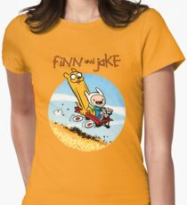 Finn and Jake Women's Fitted T-Shirt