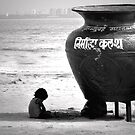 Chowpatty Beach by Lisa Stead