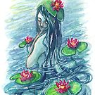 Lily Pad Maiden by Catherine Herold