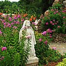 Mary in her Garden by Susan Blevins