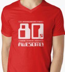 I Remember The 80s Men's V-Neck T-Shirt