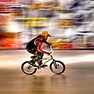 BMX Blur by JLaverty