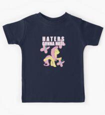 Fluttershy and butterflies Kids Clothes