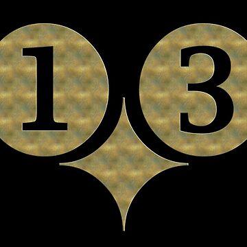 DREIZEHN - 13 - Gold von fuxart