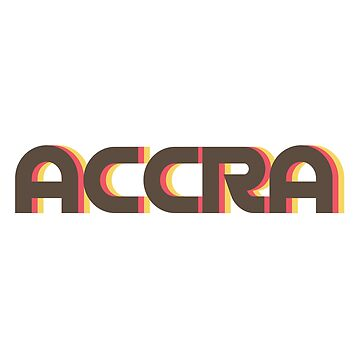 Accra Retro by designkitsch