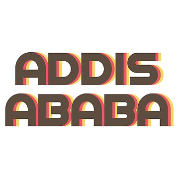 Addis Ababa Retro by designkitsch