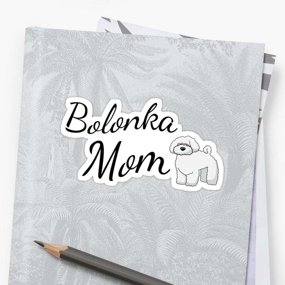 Bolonka Mom Sticker
