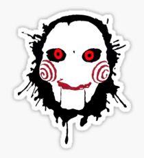 Jigsaw Spatter Sticker