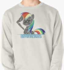 Brony Typography (white) Pullover