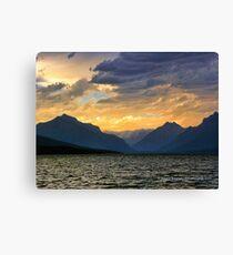 Lake MacDonald Evening Canvas Print