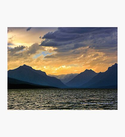 Lake MacDonald Evening Photographic Print