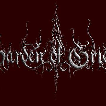 Metal 3D Logo by gardenofgrief