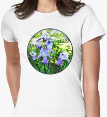Purple Irises in Suburbs T-Shirt