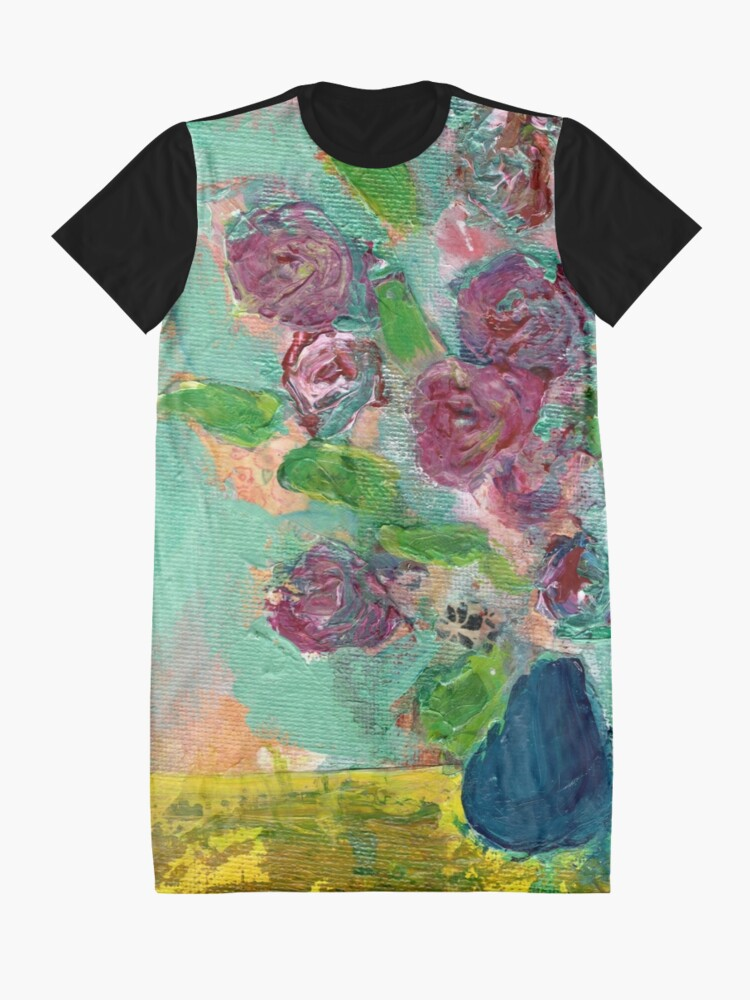 Alternate view of Spring Bouquet 1 Graphic T-Shirt Dress