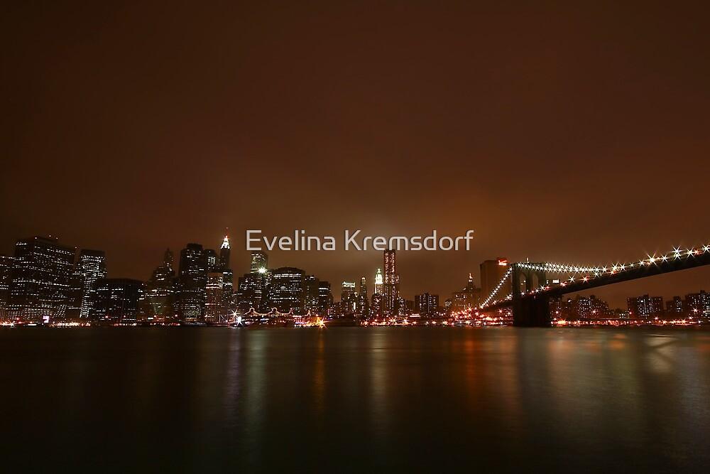 Big Apple Lights by Evelina Kremsdorf
