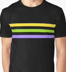 Adrien Agreste Cat Cosplay Streifen Grafik T-Shirt