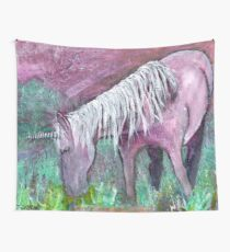 Unicorn Warrior at Rest Wall Tapestry