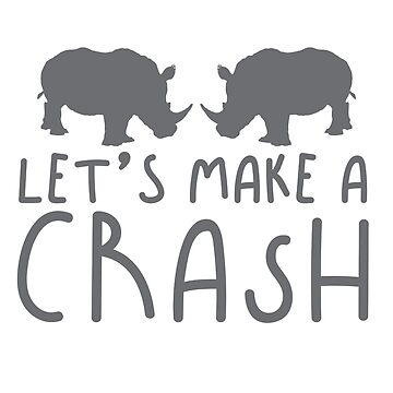 Let's make a CRASH rhino (Collective Noun Group of rhinos) by jazzydevil