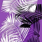 Passionate Purple Palms by Bryan W. Cole