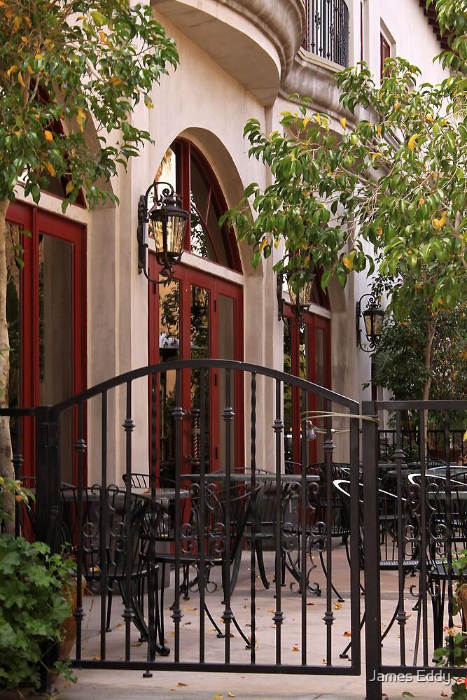 Outdoor Restaurant by James Eddy