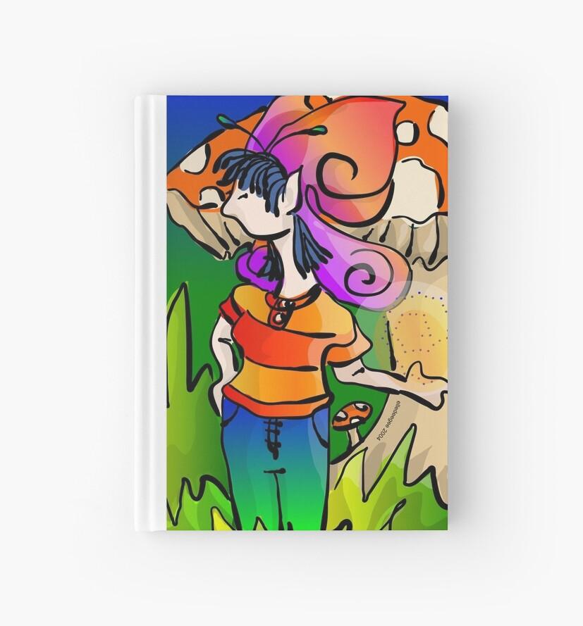 Modern Teen-age Butterfly Faerie by elledeegee