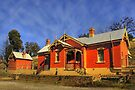Carcoar NSW ~ Railway Station by Rosalie Dale