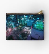 Shibuya crossing from above Studio Pouch