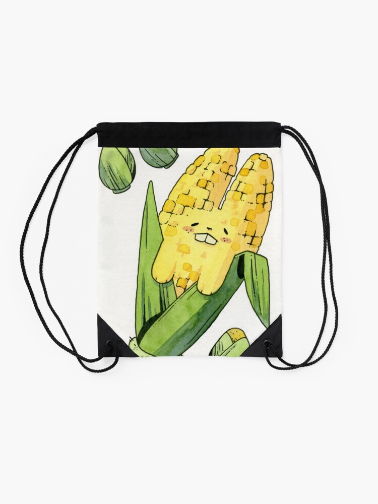 Alternate view of Corny Bunny Drawstring Bag