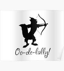 Póster capucha robin oo-de-lally