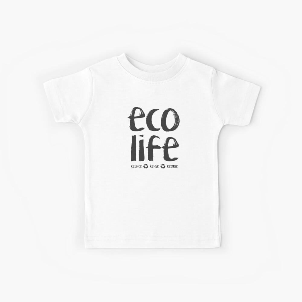 Öko-Leben, Wiederverwendung reduzieren Kinder T-Shirt