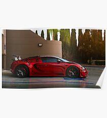 """""""Darth Maul"""" Bugatti Veyron Poster"""
