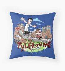 Tyler and Me Throw Pillow