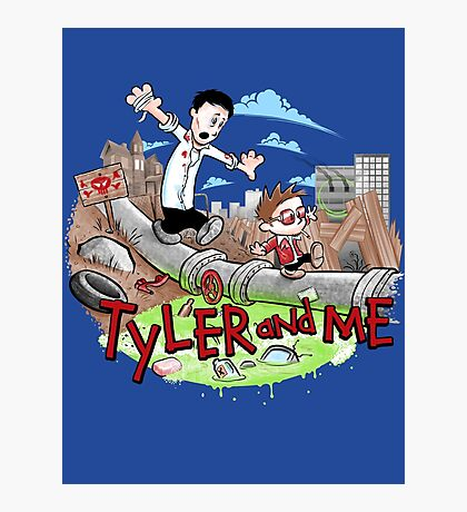 Tyler and Me Photographic Print