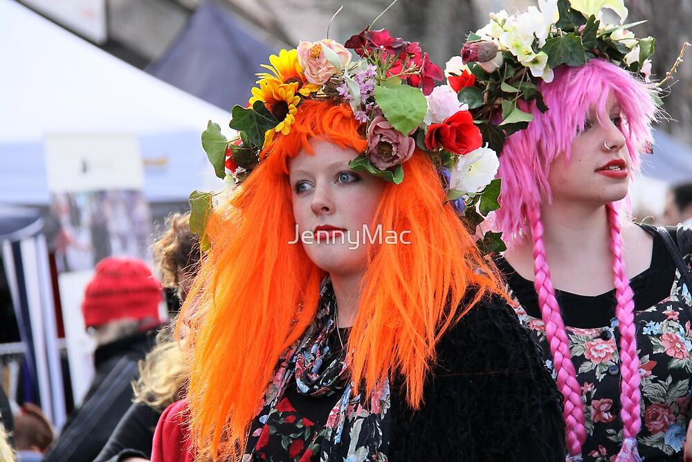 Flower Girls.... Winter Magic Festival '10 by JennyMac