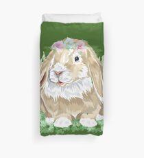 Kaninchen Blumen Sticker Kaninchen Blumenkranz Bettbezug