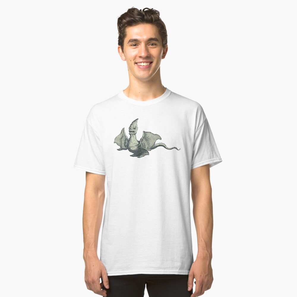 Vintage Imaginary Creature from 1776 Classic T-Shirt