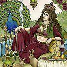 Queen of Pentacles by WinonaCookie