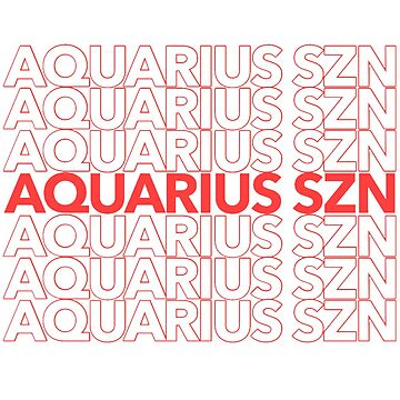 Aquarius Szn by madisonbaber