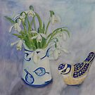 Jug of Snowdrops by Susan Duffey