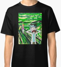 Rick Sanchez, The Scream, 1893, Edvard Munch Classic T-Shirt