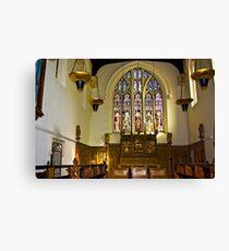 St Olave's - Marygate - York Canvas Print