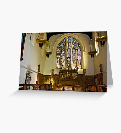 St Olave's - Marygate - York Greeting Card
