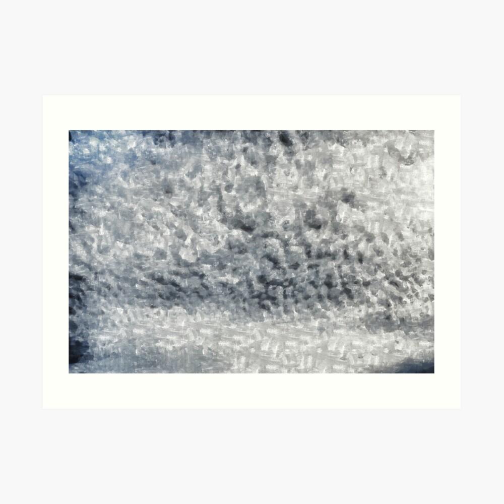 Digital painting.Tempera. Art Print