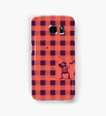 Almost a lumberjack pattern Samsung Galaxy Case/Skin